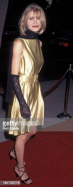 Melissa Lahlitah Crider attends the premiere of '12 Angry Men' on August 11 1997 at the Academy Theater in Beverly Hills California