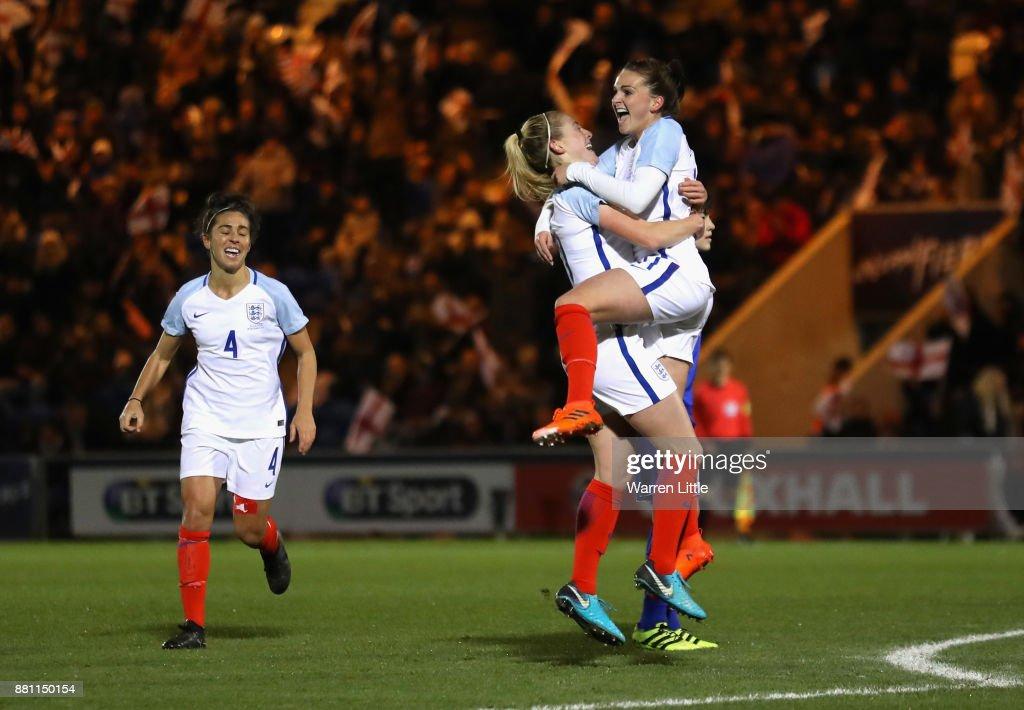 England v Kazakhstan - FIFA Women's World Cup Qualifier : News Photo