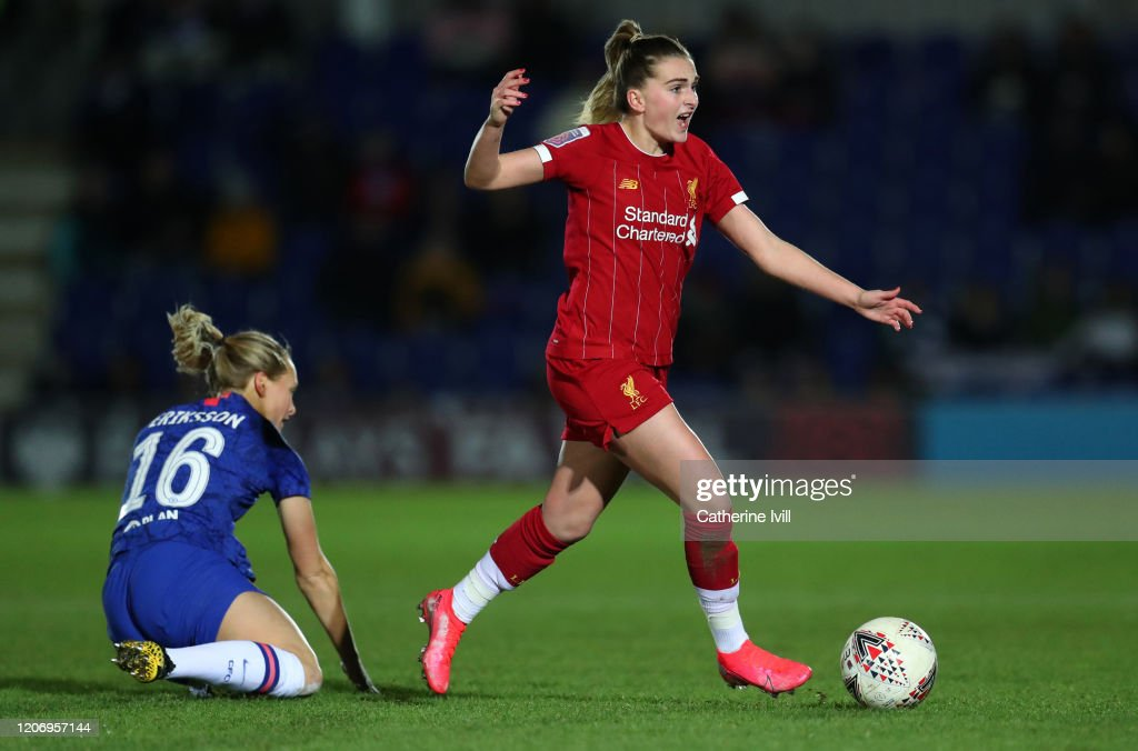 Chelsea FC v Liverpool FC - The Women's FA Cup: Fifth Round : News Photo