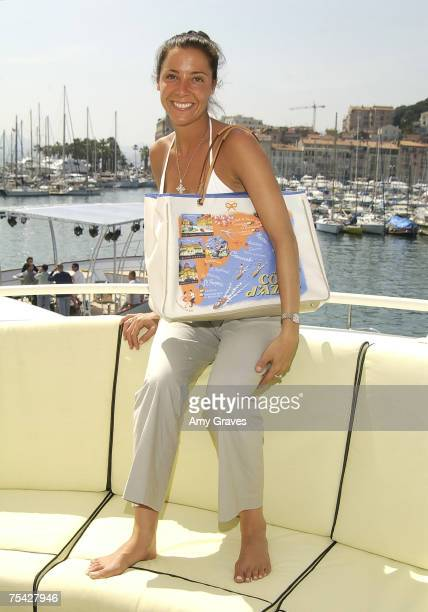 Melissa Lemer with Anya Hindmarch Bag.