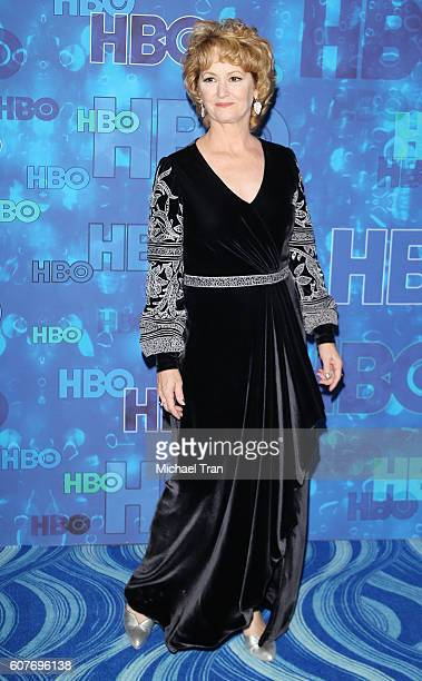 Melissa Leo arrives at HBO's Post Emmy Awards reception held at The Plaza at the Pacific Design Center on September 18 2016 in Los Angeles California