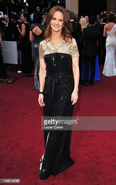 Melissa Leo arrives at the 84th Annual Academy Awards held at the Hollywood Highland Center on February 26 2012 in Hollywood California