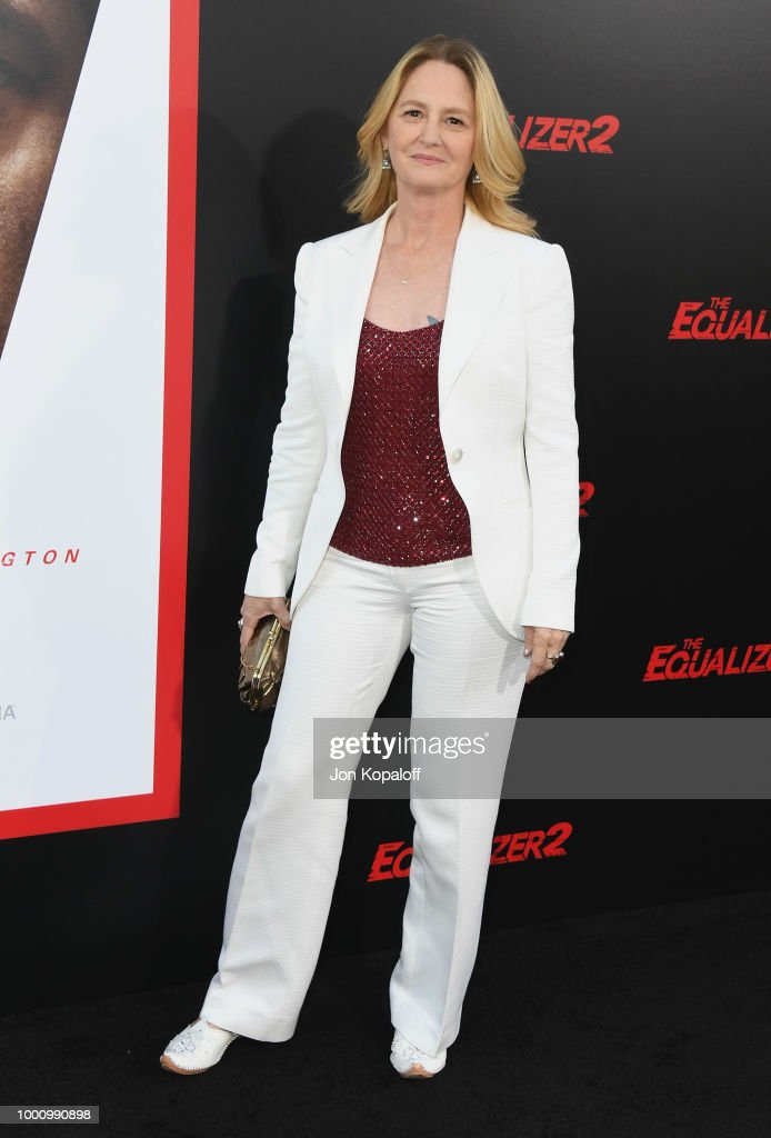Melissa Leo attends premiere of Columbia Picture's 'Equalizer 2' at TCL Chinese Theatre on July 17, 2018 in Hollywood, California.