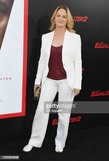 Melissa Leo attends premiere of Columbia Picture's 'Equalizer 2' at TCL Chinese Theatre on July 17 2018 in Hollywood California