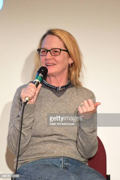 Melissa Leo attends the 2018 Mammoth Lakes Film Festival on May 26 2018 in Mammoth Lakes California