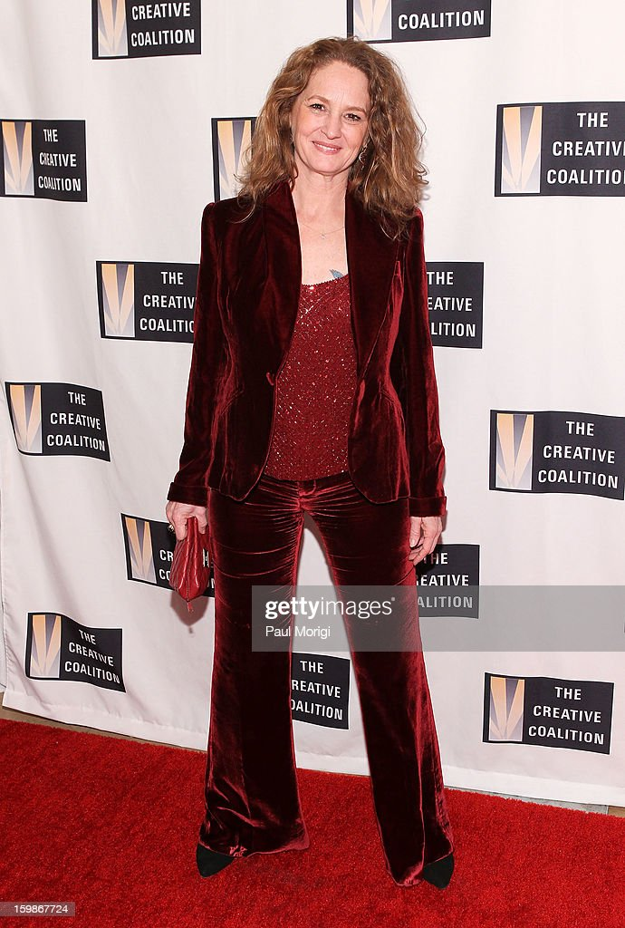 Melissa Leo attends The Creative Coalition's 2013 Inaugural Ball on January 21, 2013 in Washington, United States.