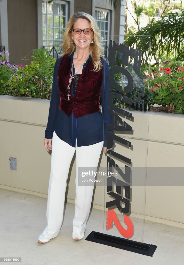Melissa Leo attends the photo call for Columbia Pictures' 'The Equalizer 2' at the Four Seasons Hotel on July 13, 2018 in Los Angeles, California.