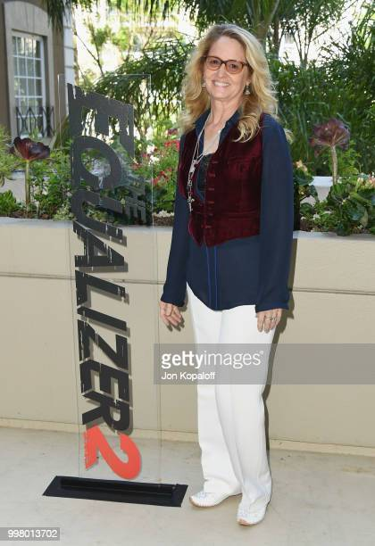 Melissa Leo attends the photo call for Columbia Pictures' 'The Equalizer 2' at the Four Seasons Hotel on July 13 2018 in Los Angeles California