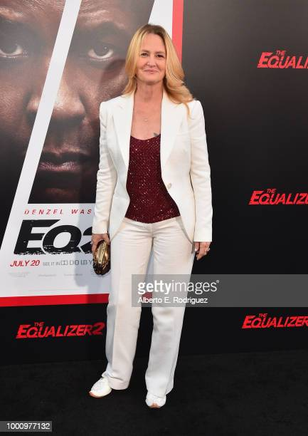 Melissa Leo attends the premiere of Columbia Picture's Equalizer 2 at TCL Chinese Theatre on July 17 2018 in Hollywood California