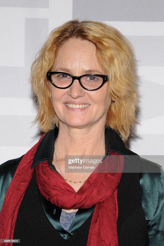 Melissa Leo attends the 'Tangerine' New York screening at MoMA Titus One on December 2, 2015 in New York City.