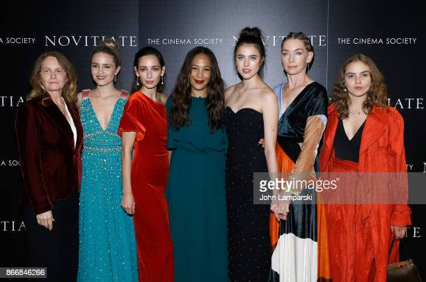 Melissa Leo Dianna Agron Rebecca Dyan Jessica Betts Margaret Qualley Julianne Nichelson and Morgan Saylor attend screening of Sony Pictures Classics'...