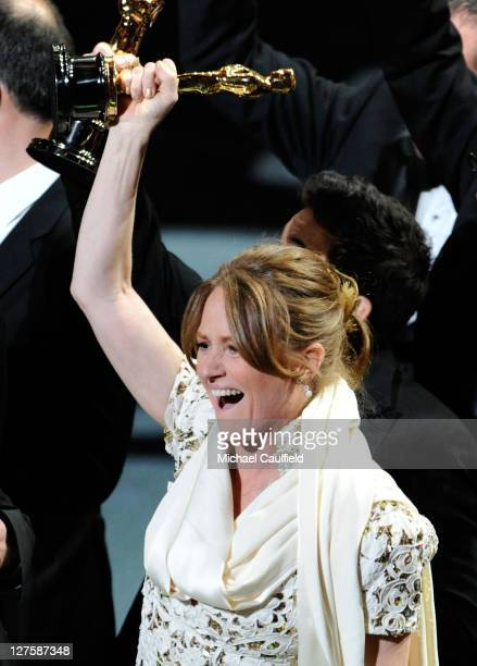 Melissa Leo is seen onstage during the 83rd Annual Academy Awards held at the Kodak Theatre on February 27 2011 in Hollywood California