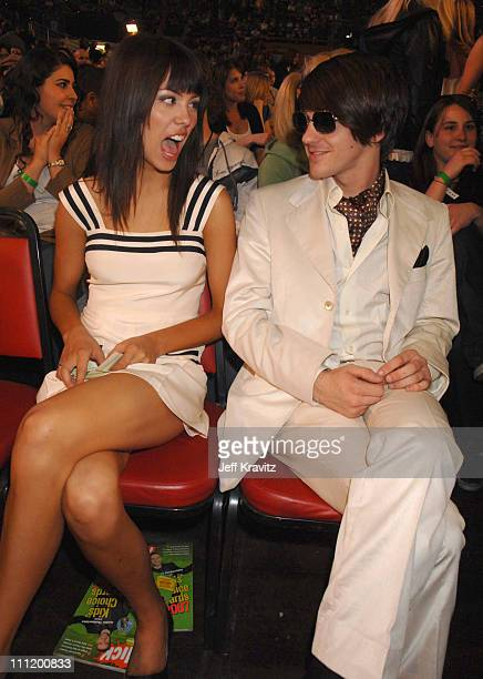 Melissa Lingafelt and Drake Bell during Nickelodeon's 20th Annual Kids' Choice Awards Audience and Backstage at Pauley Pavilion UCLA in Westwood...