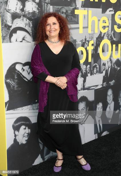 Melissa Manchester attends the Apple Music Los Angeles Premiere Of 'Clive Davis The Soundtrack Of Our Lives' at Pacific Design Center on September 26...