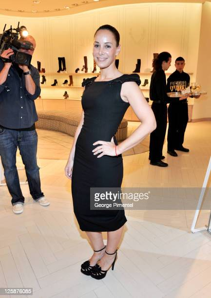 Melissa Manly attends the cocktail reception for designer L'Wren Scott at The Room The Bay on October 26 2010 in Toronto Canada