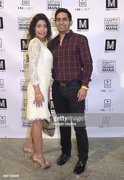 Melissa Mansukhani and Jose Solorzano attend InList 1 Year Anniversary and Moishe Mana Birthday at Mana Wynwood on December 2 2015 in Miami Florida