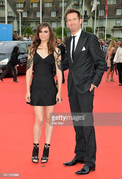 Melissa Mars and Sam Bobino attend 'The Bourne Legacy' Premiere 38th Deauville American Film Festival at CID on September 1 Deauville France