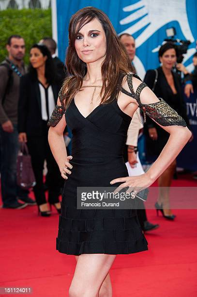 Melissa Mars arrives for the premiere of the film 'The Bourne Legacy' during 38th Deauville American Film Festival on September 1 2012 in Deauville...