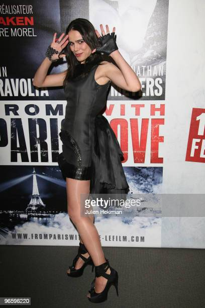 Melissa Mars attends From Paris with Love Paris premiere at Cinema UGC Normandie on February 11 2010 in Paris France