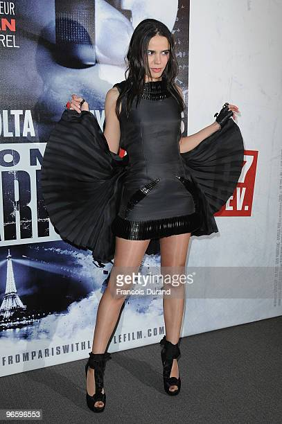 Melissa Mars attends 'From Paris With Love' Paris Premiere at Cinema UGC Normandie on February 11 2010 in Paris France