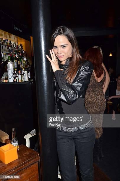 Melissa Mars attends 'La 25eme Heure' Club Launch Party April 27 2012 in Paris France