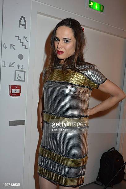 Melissa Mars attends 'Les Lumieres 2013' Cinema Awards 18th Ceremony at La Gaite Lyrique on January 18 2013 in Paris France