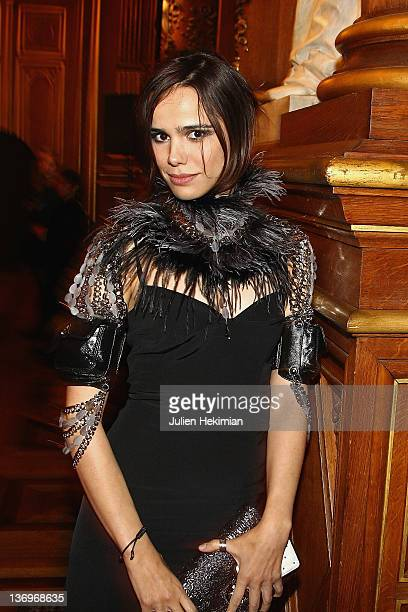 Melissa Mars attends the 17th 'Ceremonie Des Lumieres' at Hotel de Ville on January 13 2012 in Paris France