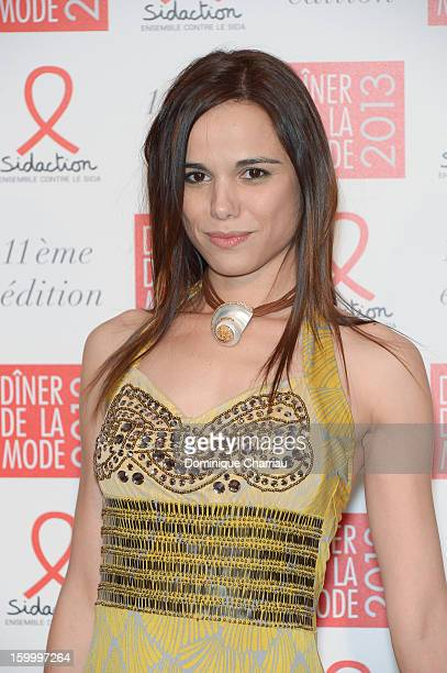 Melissa Mars attends the Sidaction Gala Dinner 2013 at Pavillon d'Armenonville on January 24 2013 in Paris France