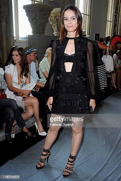 Melissa Mars attends the Stephane Rolland Haute Couture Fall/Winter 2011/2012 show as part of Paris Fashion Week at Cite de l'Architecture et du...