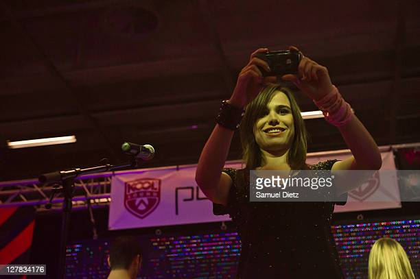 Melissa Mars performs live during the Music Expo 2011 at Parc des Expositions Porte de Versailles on October 1 2011 in Paris France