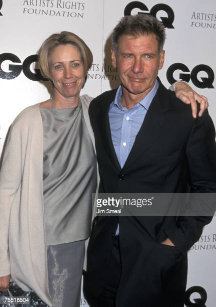 Melissa Mathison and Harrison Ford at the The Sunset Club in Hollywood California