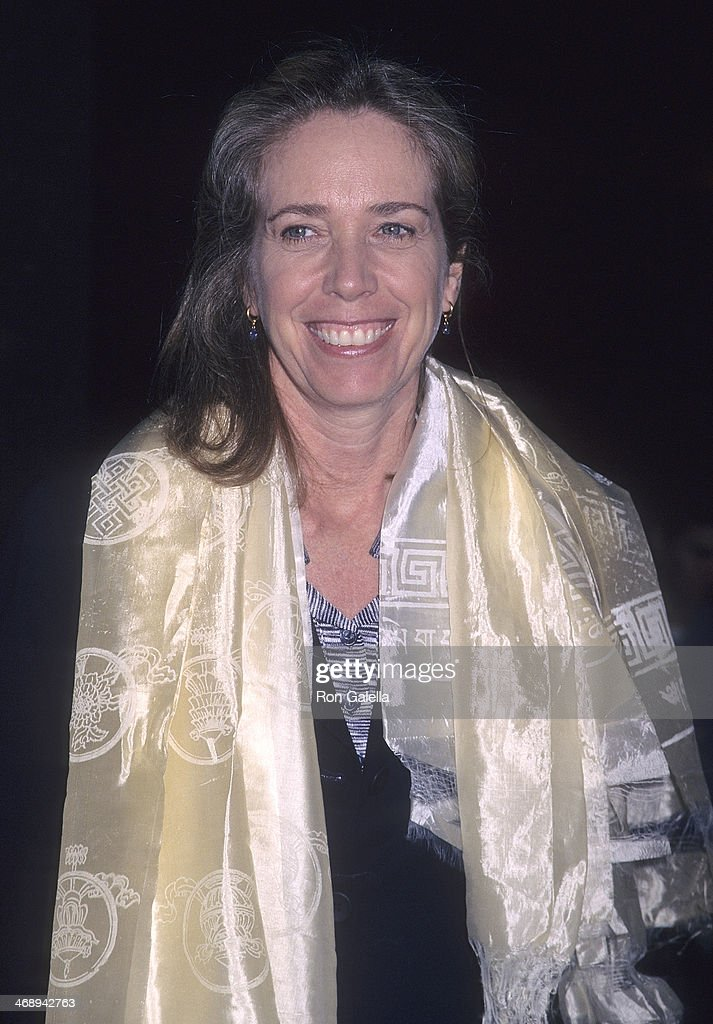 Melissa Mathison (Mrs. Harrison Ford) attends the 'Kundun' Westwood Premiere on December 15, 1997 at the Avco Center Cinemas in Westwood, California.