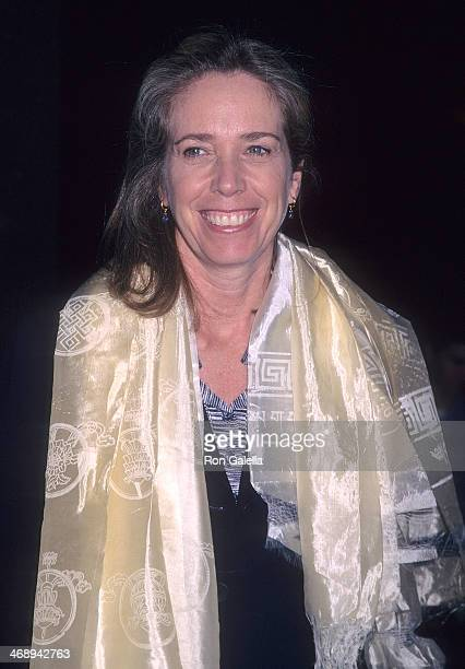 Melissa Mathison attends the 'Kundun' Westwood Premiere on December 15 1997 at the Avco Center Cinemas in Westwood California