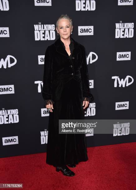 """Melissa McBride attends the Season 10 Special Screening of AMC's """"The Walking Dead"""" at Chinese 6 Theater– Hollywood on September 23, 2019 in..."""