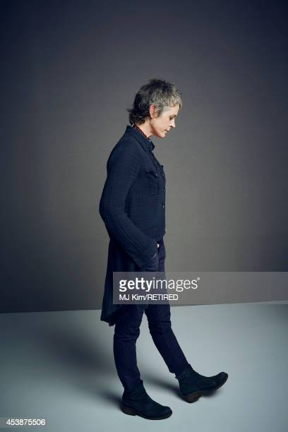 Melissa McBride poses for a portrait at the Getty Images Portrait Studio powered by Samsung Galaxy at ComicCon International 2014 on July 24 2014 in...