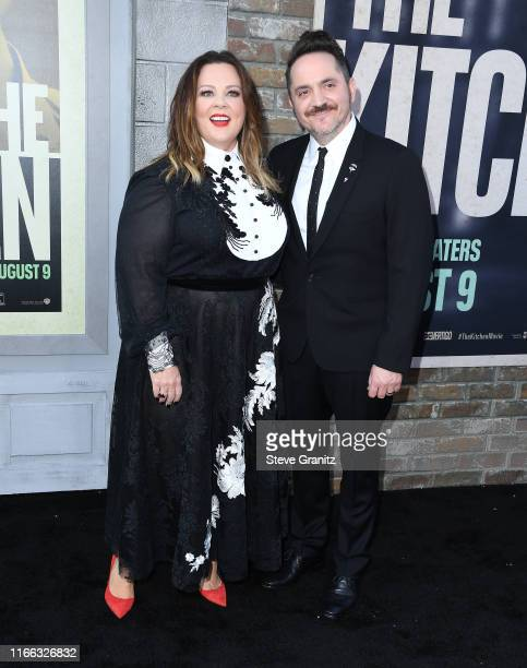 Melissa McCarthy and Ben Falcone arrives at the Premiere Of Warner Bros Pictures' The Kitchen Premiere Of Warner Bros Pictures' The Kitchen at TCL...