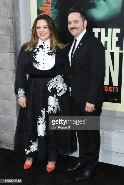 Melissa McCarthy and Ben Falcone attend the Premiere Of Warner Bros Pictures' The Kitchen at TCL Chinese Theatre on August 05 2019 in Hollywood...