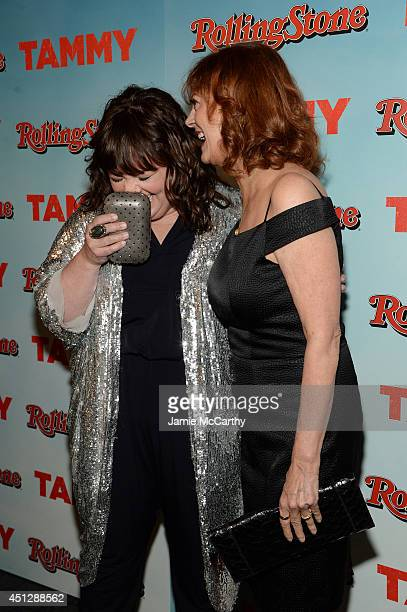 Melissa McCarthy and Susan Sarandon attend the Tammy New York special screening at Landmark Sunshine Cinema on June 26 2014 in New York City