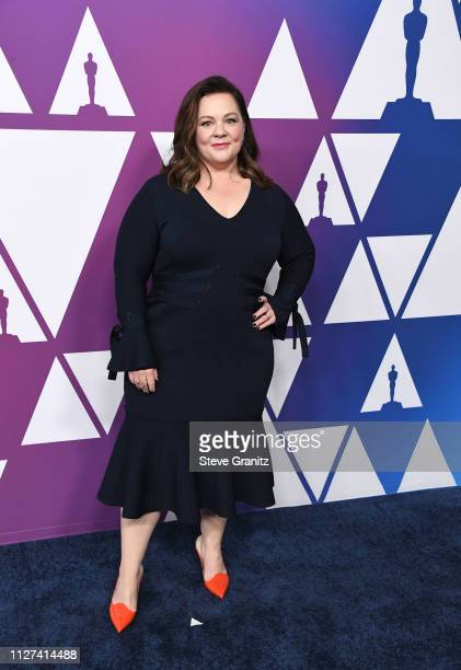 Melissa McCarthy arrives at the 91st Oscars Nominees Luncheon at The Beverly Hilton Hotel on February 04 2019 in Beverly Hills California
