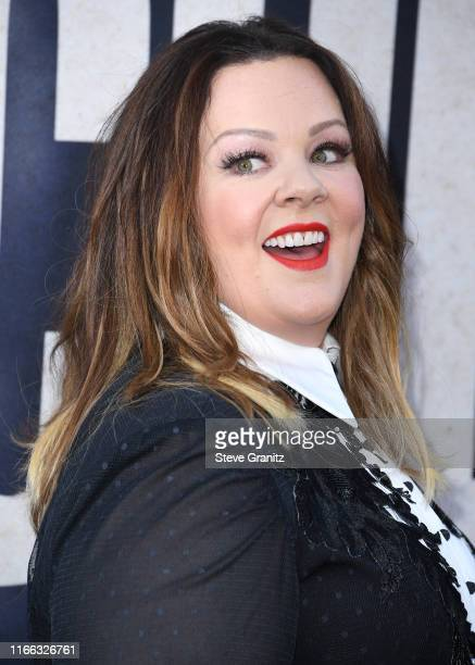 Melissa McCarthy arrives at the Premiere Of Warner Bros Pictures' The Kitchen Premiere Of Warner Bros Pictures' The Kitchen at TCL Chinese Theatre on...
