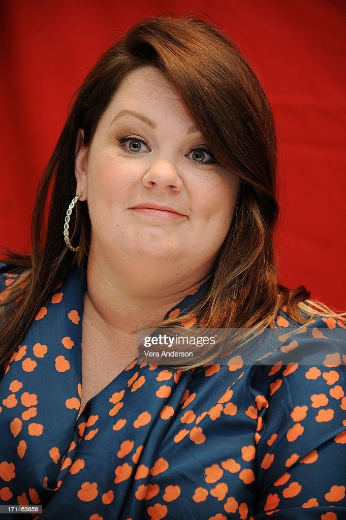 Melissa McCarthy at 'The Heat' Press Conference at the Ritz Carlton Hotel on June 23, 2013 in New York City.
