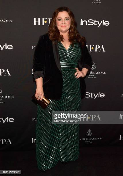 Melissa McCarthy attends 2018 HFPA and InStyle's TIFF Celebration at the Four Seasons Hotel on September 8 2018 in Toronto Canada