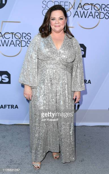 Melissa McCarthy attends 25th Annual Screen ActorsGuild Awards at The Shrine Auditorium on January 27 2019 in Los Angeles California