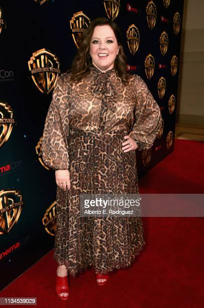 """Melissa McCarthy attends CinemaCon 2019 Warner Bros. Pictures Invites You to """"The Big Picture"""", an Exclusive Presentation of its Upcoming Slate at..."""