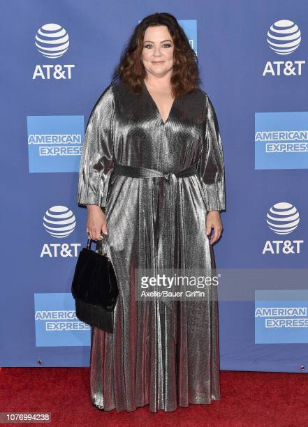 Melissa McCarthy attends the 30th Annual Palm Springs International Film Festival Film Awards Gala at Palm Springs Convention Center on January 3...