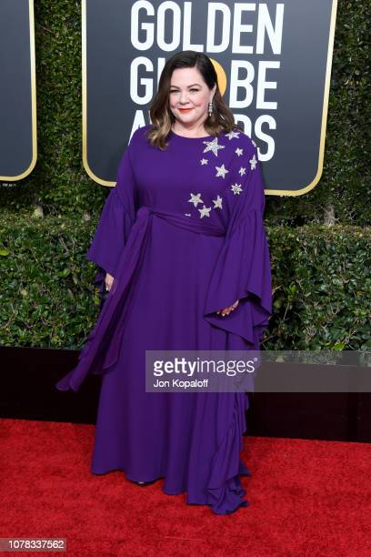 Melissa McCarthy attends the 76th Annual Golden Globe Awards at The Beverly Hilton Hotel on January 6 2019 in Beverly Hills California