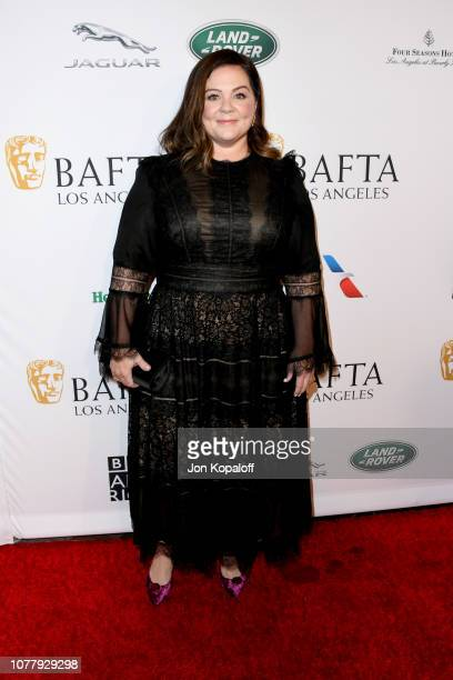 Melissa McCarthy attends The BAFTA Los Angeles Tea Party at Four Seasons Hotel Los Angeles at Beverly Hills on January 5 2019 in Los Angeles...