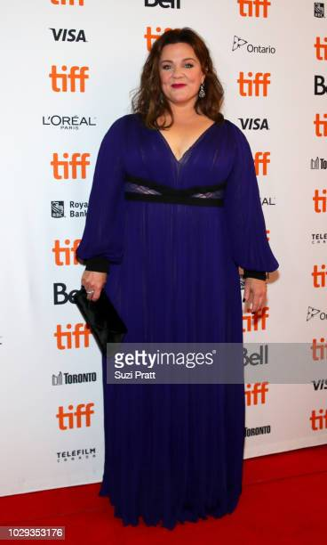 Melissa McCarthy attends the 'Can You Ever Forgive Me' premiere during 2018 Toronto International Film Festival at Winter Garden Theatre on September...