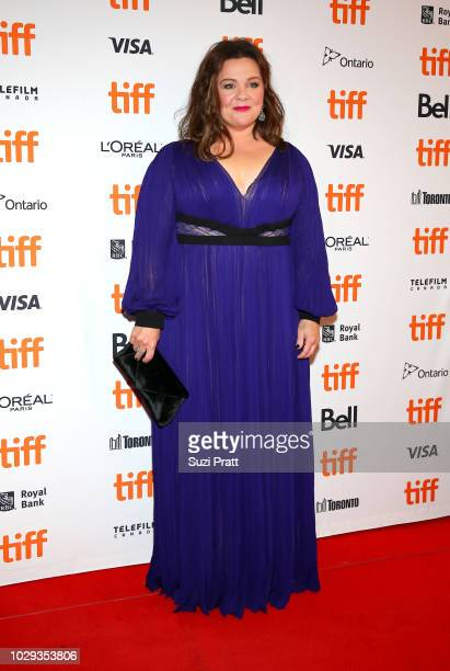 Melissa McCarthy attends the Can You Ever Forgive Me premiere during 2018 Toronto International Film Festival at Winter Garden Theatre on September 8...