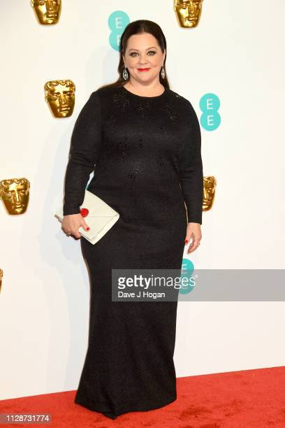 Melissa McCarthy attends the EE British Academy Film Awards at Royal Albert Hall on February 10 2019 in London England